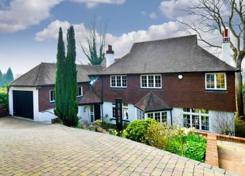 Thumbnail 4 bed detached house for sale in Walpole Avenue, Chipstead