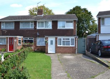 Thumbnail 4 bed semi-detached house for sale in Norton Grove, Walderslade, Chatham