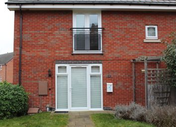 Thumbnail 1 bed end terrace house to rent in Padside Row, Hamilton, Leicester