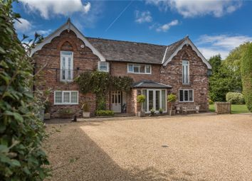 Thumbnail 5 bed detached house for sale in Burleyhurst Lane, Mobberley, Knutsford, Cheshire