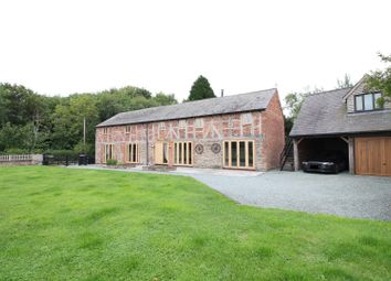 Thumbnail 4 bed barn conversion for sale in Station Road, Westbury, Shrewsbury