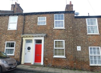 Thumbnail 2 bed terraced house for sale in Buckingham Street, Bishophill, York