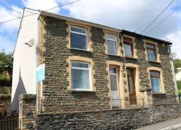 Thumbnail 3 bed semi-detached house for sale in New Road, Argoed, Blackwood