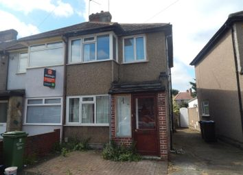 Thumbnail 3 bed semi-detached house to rent in Third Avenue, Dagenham