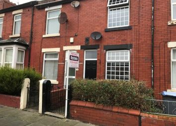 Thumbnail 2 bedroom terraced house for sale in Warwick Road, Blackpool