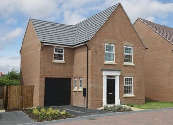 "Thumbnail 3 bedroom detached house for sale in ""Bradwell"" at Station Road, Warboys, Huntingdon"