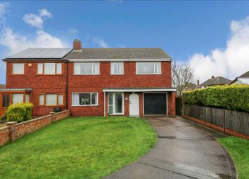 Thumbnail 4 bed semi-detached house for sale in Cedar Close, Waddington, Lincoln