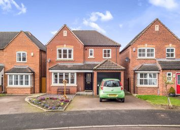 Thumbnail 4 bed detached house for sale in Skinners Way, Midway, Swadlincote