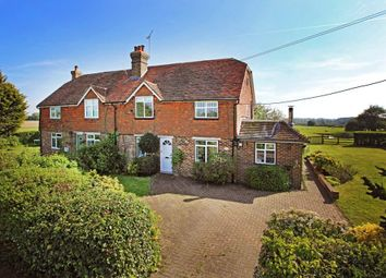 Thumbnail 3 bed semi-detached house for sale in Lower Buckhurst Cottages, Biddenden Road, Frittenden, Kent