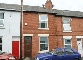 Thumbnail 2 bed terraced house for sale in Latham Street, Bulwell, Nottingham