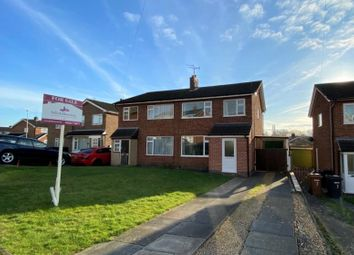 Thumbnail 3 bed semi-detached house for sale in Witham Close, Melton Mowbray