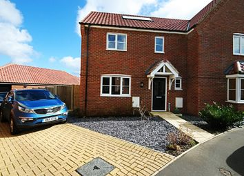 Thumbnail 3 bed semi-detached house to rent in Prince William Way, Diss