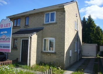 Thumbnail 2 bed semi-detached house for sale in Hill Brow Close, Bradford