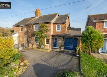 Thumbnail 4 bed semi-detached house for sale in Flansham Lane, Felpham, Bognor Regis, West Sussex.