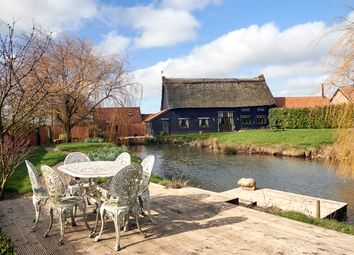Thumbnail 4 bed barn conversion for sale in Abbey Road, Flixton, Bungay
