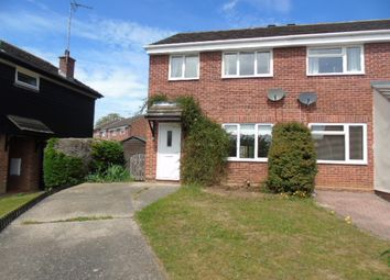 Thumbnail 3 bed semi-detached house to rent in Ludbrook Close, Needham Market, Ipswich
