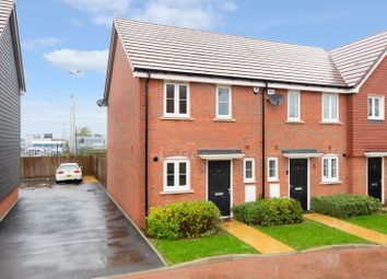 Thumbnail 2 bed end terrace house for sale in Hook Way, Maidstone