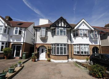 Thumbnail 5 bedroom semi-detached house for sale in Woodstock Avenue, Sutton