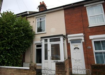 Thumbnail 2 bed terraced house to rent in Rosebery Road, Ipswich