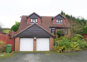 Thumbnail 4 bedroom detached house for sale in Glyn Road, Selattyn, Oswestry