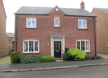 Thumbnail 4 bed detached house for sale in Greyhound Croft, Hinckley