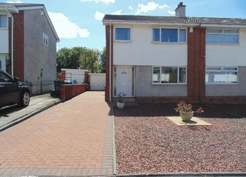 Thumbnail 3 bed semi-detached house for sale in Bannerman Drive, Bellshill