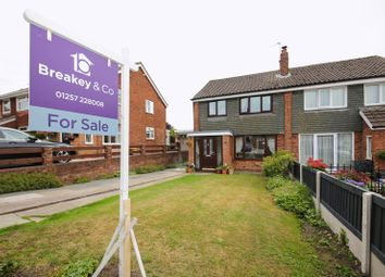 Thumbnail 3 bed semi-detached house for sale in Runshaw Avenue, Appley Bridge, Wigan