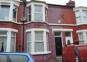 Thumbnail 3 bedroom terraced house to rent in Springbourne Road, Aigburth, Liverpool