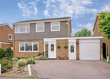 Thumbnail 4 bed detached house for sale in Roundhouse Drive, Perry, Huntingdon, Cambridgeshire.