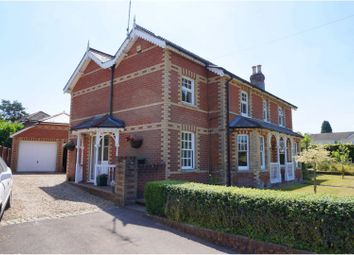 Thumbnail 4 bed detached house for sale in Station Road, Fordingbridge