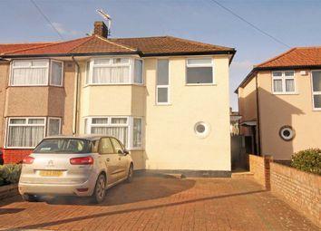 Thumbnail 3 bed property to rent in Hall Farm Drive, Whitton, Twickenham