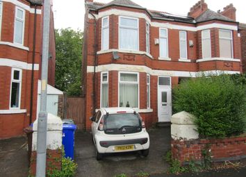 Thumbnail 3 bed semi-detached house for sale in Clarendon Road West, Chorlton