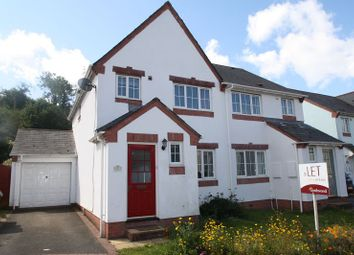 Thumbnail 3 bedroom semi-detached house to rent in Cunliffe Avenue, Mount Batten, Plymouth