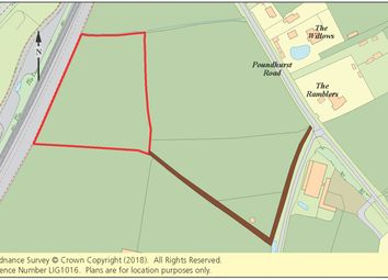 Thumbnail Land for sale in Land At Poundhurst Road, Ruckinge, Ashford, Kent