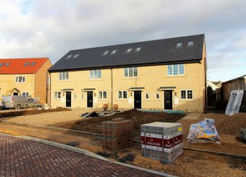 Thumbnail 3 bed end terrace house for sale in Cloven Ends, Langtoft, Peterborough