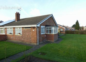 Thumbnail 2 bed semi-detached bungalow for sale in Tranmoor Lane, Armthorpe, Doncaster.