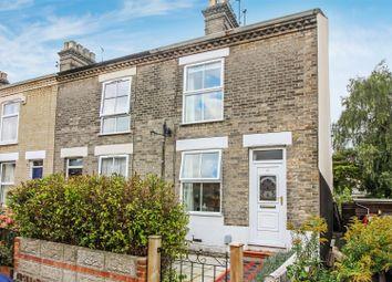 Thumbnail 3 bedroom end terrace house for sale in Livingstone Street, Norwich