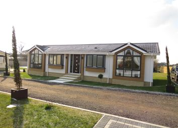 Thumbnail 2 bed mobile/park home for sale in Camp Road, Upper Heyford, Bicester