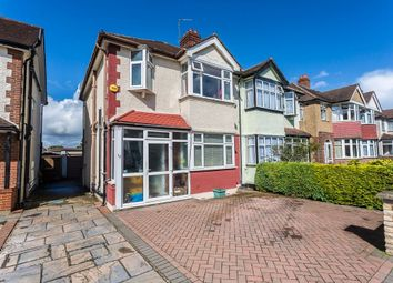 Thumbnail 3 bed semi-detached house for sale in Ewell Court Avenue, Ewell, Epsom