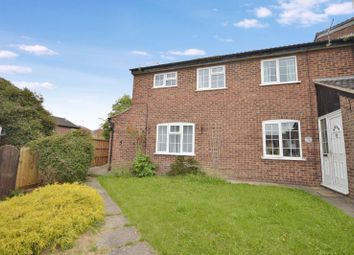 Thumbnail 3 bed end terrace house for sale in Burton Close, Oadby, Leicester