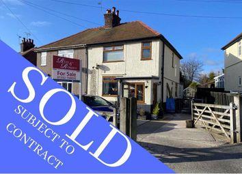 Thumbnail 3 bed semi-detached house for sale in Caerfallwch, Rhosesmor, Flintshire
