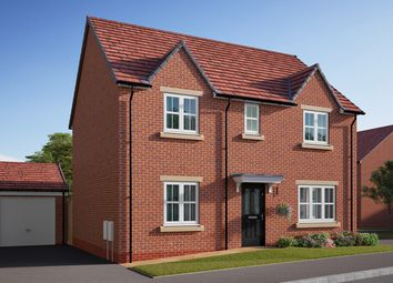 "Thumbnail 4 bed detached house for sale in ""The Leverton"" at Southfield Lane, Tockwith, York"