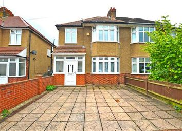 Thumbnail 3 bed semi-detached house to rent in Hartham Road, Isleworth