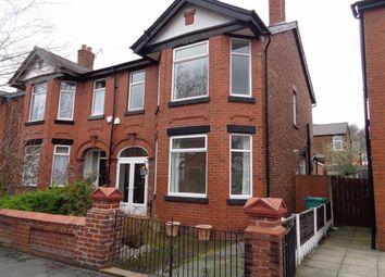 Thumbnail 3 bed semi-detached house to rent in Milwain Road, Burnage, Manchester