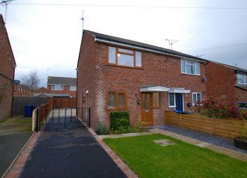 Thumbnail 2 bed semi-detached house for sale in Hallam Road, Uttoxeter