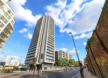 Thumbnail 1 bed property for sale in Horizons Tower, Yabsley Street, London
