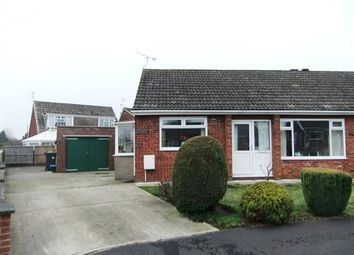 Thumbnail 3 bed semi-detached bungalow for sale in Stuart Close, Bottesford, Scunthorpe