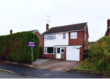 Thumbnail 4 bed detached house for sale in Holyrood Drive, Crewe