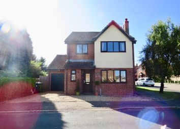Thumbnail 4 bed detached house for sale in Manor Road, Stilton, Peterborough