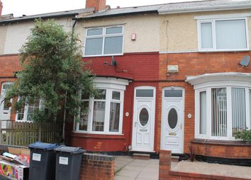 Thumbnail 3 bed terraced house to rent in Swindon Road, Edgbaston, Birmingham